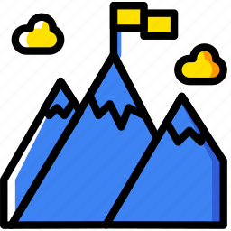 business, company, goal, startup, team icon