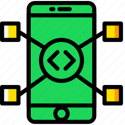 business, code, company, expansion, startup icon