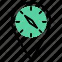 gps, location, map, navigation, pin, pointer, speed meter