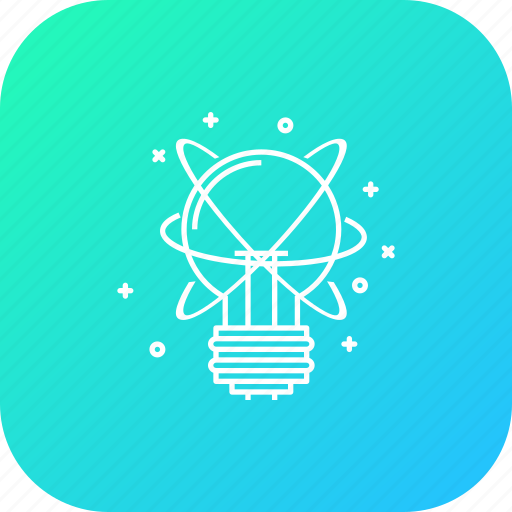 big, bulb, business, idea, innovation, startup, thing icon