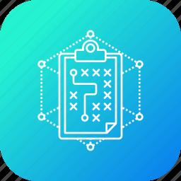 business, future, plan, report, statics, strategy icon