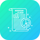 business, future, plan, report, startup, statics, strategy icon