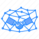 connection, handshake, joint, partnership, personal, venture
