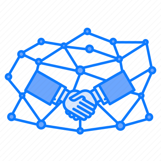 connection, handshake, joint, partnership, personal, venture icon