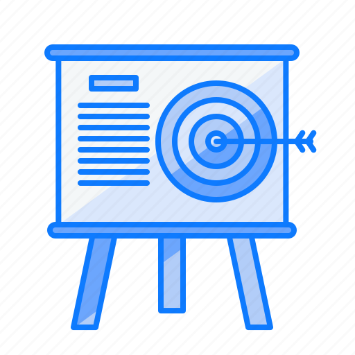 auditory, business, company, future, goal, mission, target icon