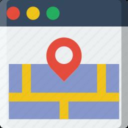 address, business, company, startup, web icon