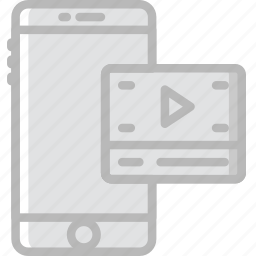 business, company, startup, video icon