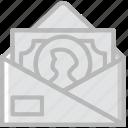 business, company, money, send, startup icon