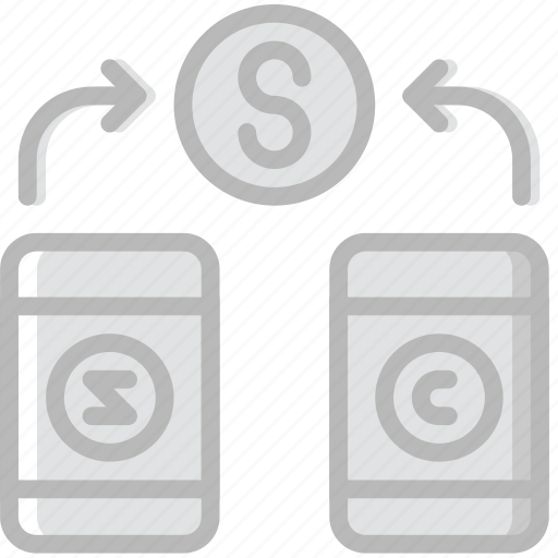 business, company, funds, receive, startup icon