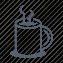coffee, drink, mug icon