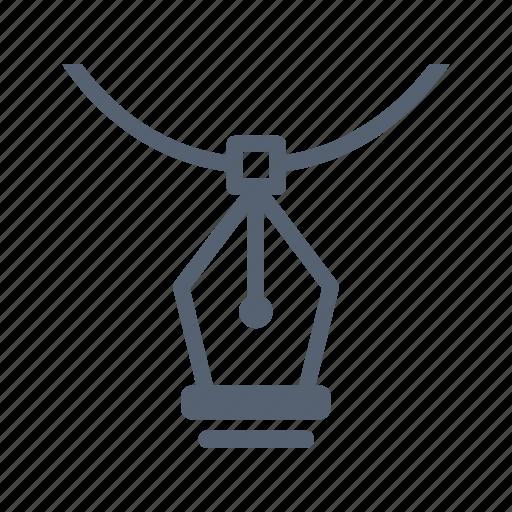 bezier, design, pen icon
