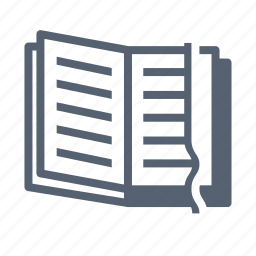 moleskine, notebook icon