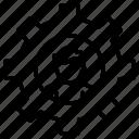 cogwheel, configuration, settings, avatar