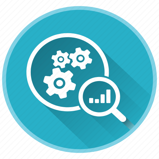 benefits, gears, management, plan, project, review icon