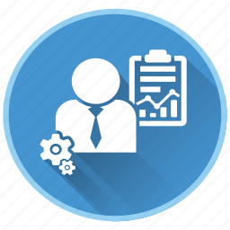 gears, management, project, quality, strategy icon