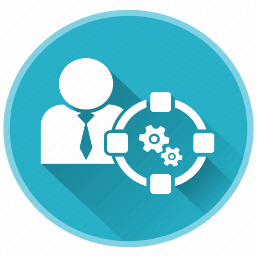 gears, management, project, strategy icon