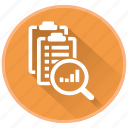 checklists, lessons, management, project, report icon