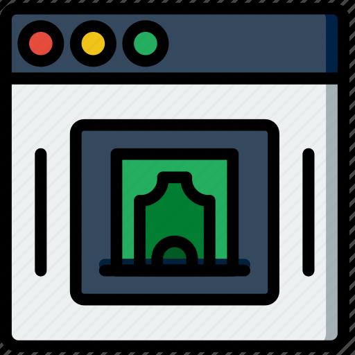 business, company, startup, transaction, web icon