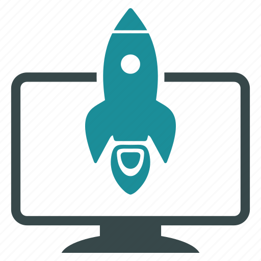 project, rocket, science, space, start, startup, technology icon