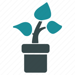 business project, eco, ecology, plant, startup, tree icon