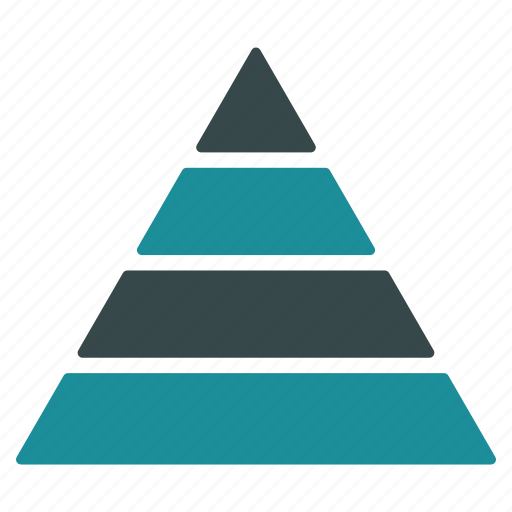 chart, geometry, model, planning, pyramid, structure, triangle icon