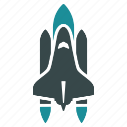 cosmos, rocket science, shuttle, space ship, spaceship, star trek, technology icon