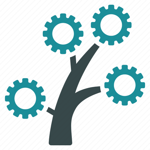 business, company, factory, industrial, industry, plant, tree icon