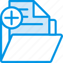 add, business, company, folder, startup icon