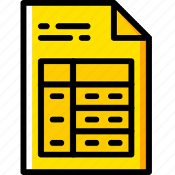 business, company, file, startup, table icon