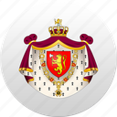 country, norway, norwegian, state, state emblem icon