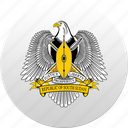 country, state, state emblem, sudan icon