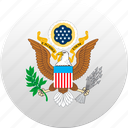 country, state, state emblem, united states, usa