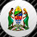 country, state, state emblem, tanzania