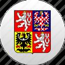 czech, country, state, czech republic, state emblem