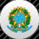 brazil, brazilian, country, state, state emblem