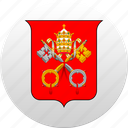 country, state, state emblem, vatican icon