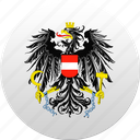 austria, country, state, state emblem