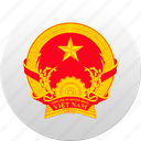 country, state, state emblem, vietnam