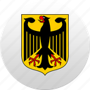 country, germany, state, state emblem