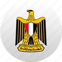 country, egypt, egyptian, state, state emblem