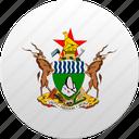 country, state, state emblem, zimbabwe