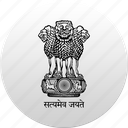 country, india, state, state emblem