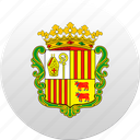 andorra, country, state, state emblem icon