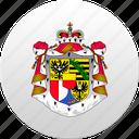 country, liechtenstein, state, state emblem