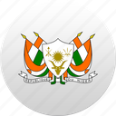 country, niger, state, state emblem