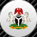 country, nigeria, state, state emblem