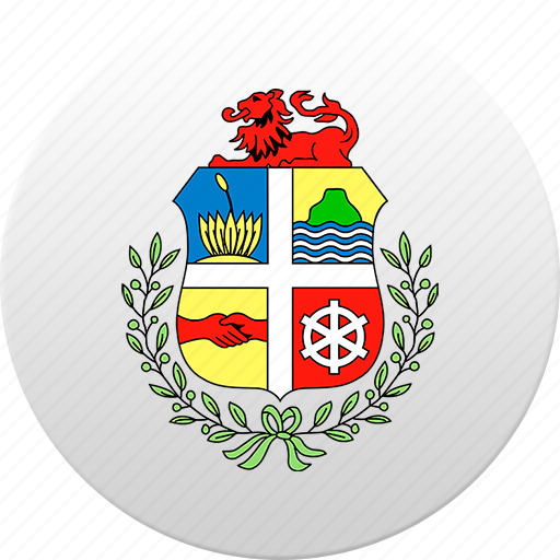 aruba, country, state, state emblem icon