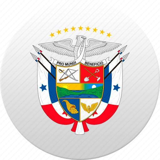 country, panama, state, state emblem icon