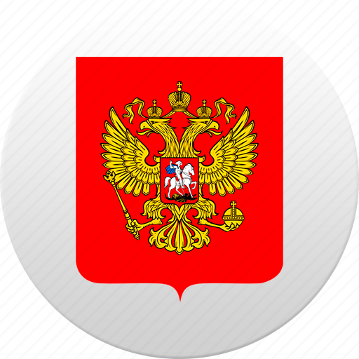 country, russia, russian, state, state emblem icon
