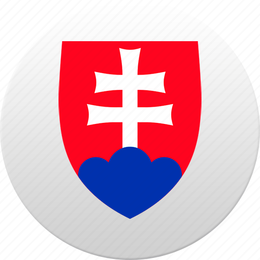 country, slovakia, state, state emblem icon